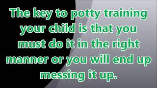 Potty Training ► Baby Potty Training