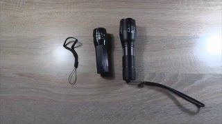 Светодиодный фонарь 2000 люмен на Cree Q5(Купить светодиодный фонарь http://ali.pub/qk97l Обзор китайского светодиодного фонаря 2000 лм на базе светодиода..., 2015-12-25T17:05:01.000Z)