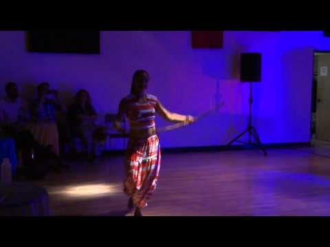 "Bahia Magia Dance Co. Afro-Brazilian Dance Solo for ""Brazilian Night"" at Dancessense Studios"