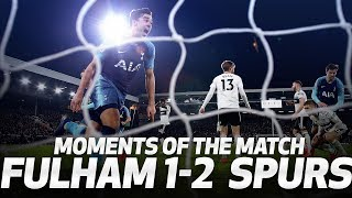 BEDLAM ON THE BENCH AFTER HARRY WINKS' LAST-MINUTE WINNER! | MOMENTS OF THE MATCH | Fulham 1-2 Spurs