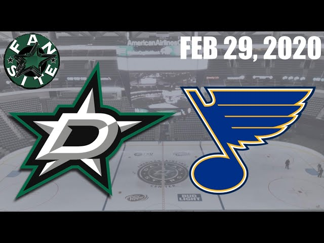 Dallas Stars @ St Louis Blues | Feb 29 2020