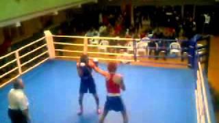 Городские соревнования по боксу. Омск