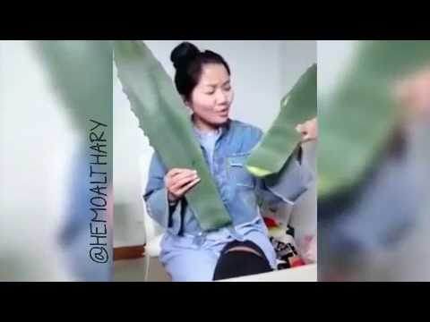 ASIAN WOMEN PANICKS AFTER EATING POISONOUS PLANT ON LIVE STREAM!!!