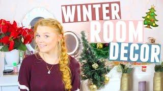 WINTER DEKO IDEEN & ROOM DECOR fürs ZIMMER + VERLOSUNG!   Meggyxoxo