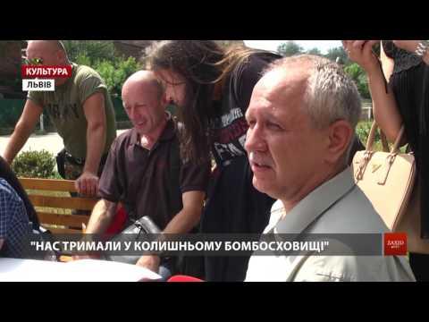 Zaxid.Net: У Львові зустрілися звільнені з полону вояки на підтримку тих, хто досі у неволі
