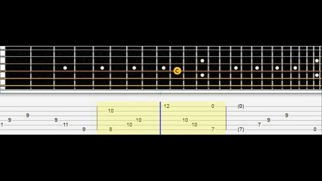 Undertale Home Guitar Tab Youtube