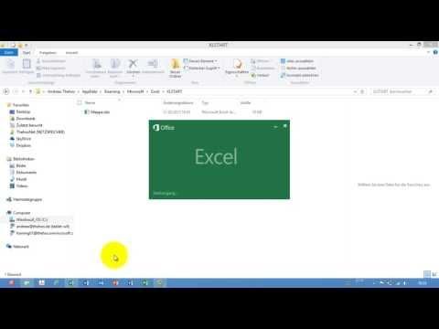 Excel # 372 - Angepasste Arbeitsmappe beim Öffnen von Excel - Startdialog ausblenden