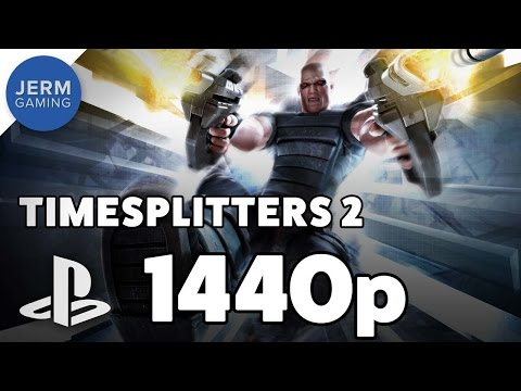 Timesplitters 2 on PC at 1440p using PCSX2 Playstation 2 Emulator