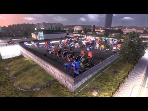 Euro Truck Simulator 2 MP - Timelapse: TruckMania TruckFest