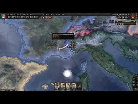 Hearts of Iron 4 PvP with Observer Play Through