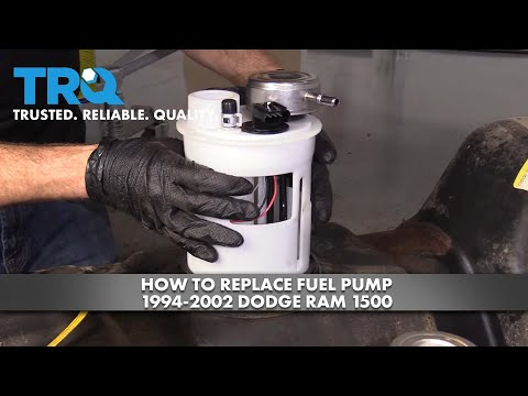 How to Replace Fuel Pump 1994-02 Dodge RAM 1500