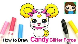 How to Draw Candy | Glitter Force