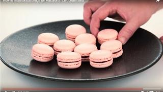Le Cordon Bleu Macaron Recipe (藍帶主廚馬卡龍食譜)
