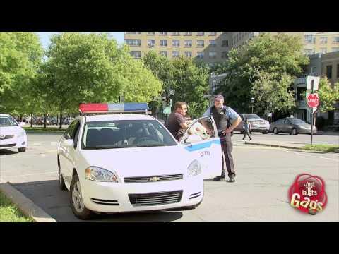 Stolen Police Cruiser Prank
