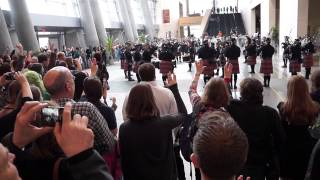 Leonard Nimoy tribute - Bagpipes playing Amazing Grace