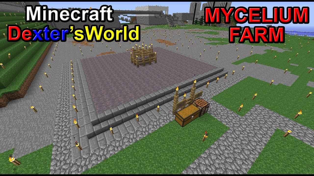 Minecraft Mycelium Farm