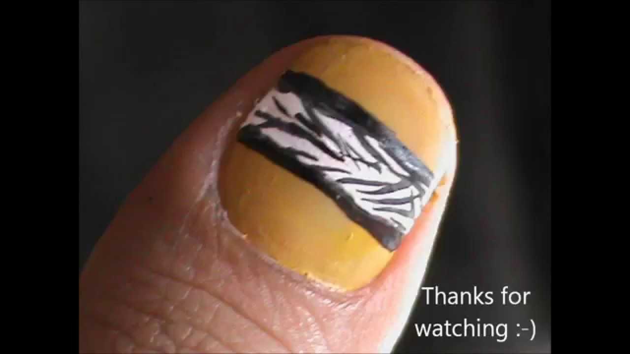 short nails- nail design