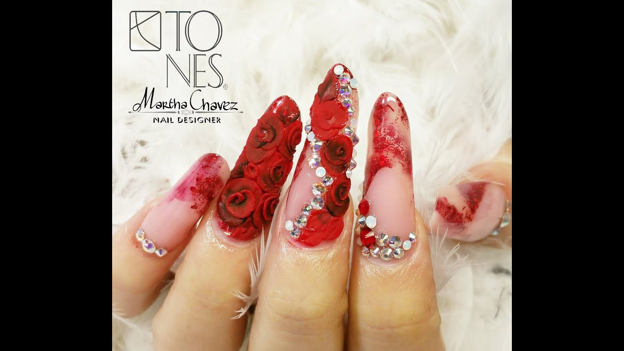 Romance nail design by tones products youtube romance nail design by tones products youtube freerunsca