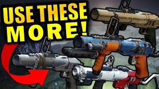 USE THESE MORE! - Special Grenade Launchers in PvE | Shadowkeep