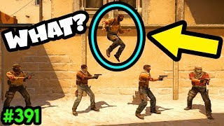 300 IQ BHOPPER vs REALITY! - CS:GO BEST ODDSHOTS #391