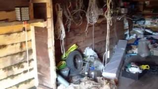 Дерев'яна підлога на лагах; будівництво гаража частина 5