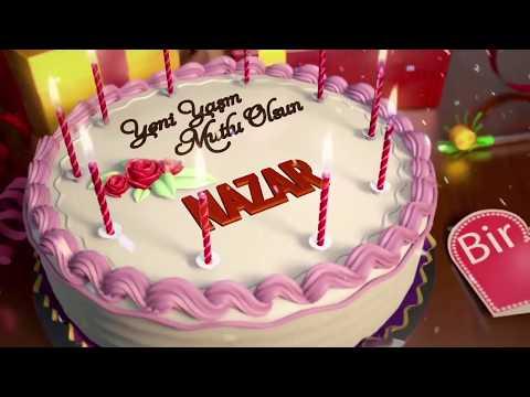 İyi ki doğdun NAZAR - İsme Özel Doğum Günü Şarkısı