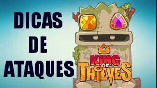 Dicas de Ataques *9 | KING OF THIEVES