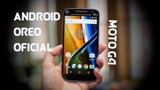 como instalar android oreo al moto  G4