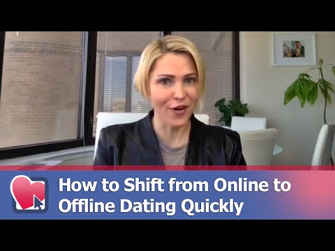 How To Shift From Online To Offline Dating Quickly - By Polina Solda (for Digital Romance TV)
