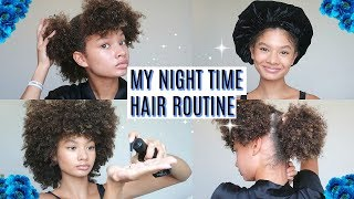 My Real Night Time Hair Routine 2019