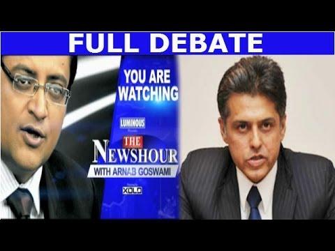 The Newshour Direct: Manish Tewari (10th March 2014)