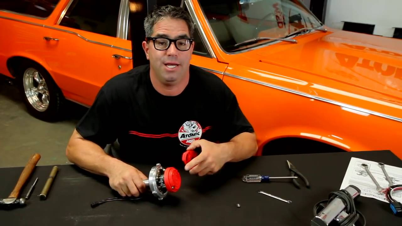 Setting Ignition Distributor Timing Curve With Msd Atomic Efi Tbi Gm Hei Module Wiring Tutorial How To Instructions Youtube