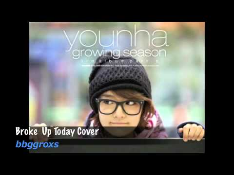 [Cover] Younha - Broke up today cover + instrumental download