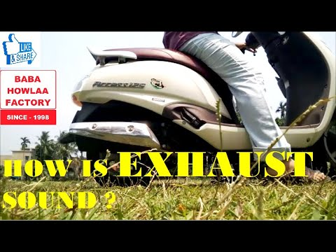 Suzuki Access 125 SPL Edition Exhaust Sound Check With New Technic You Never See Before  Access 125