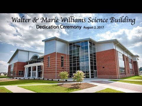 PCC Walter and Marie Williams Science Building Dedication Ceremony