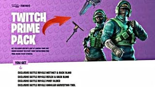 NEW SKIN OF TWITCH PRIME PACK FORTNITE / FILTRATION / REAL OR FALSE?