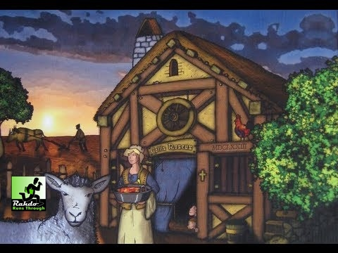 Agricola + Farmers of the Moor Gameplay Runthrough