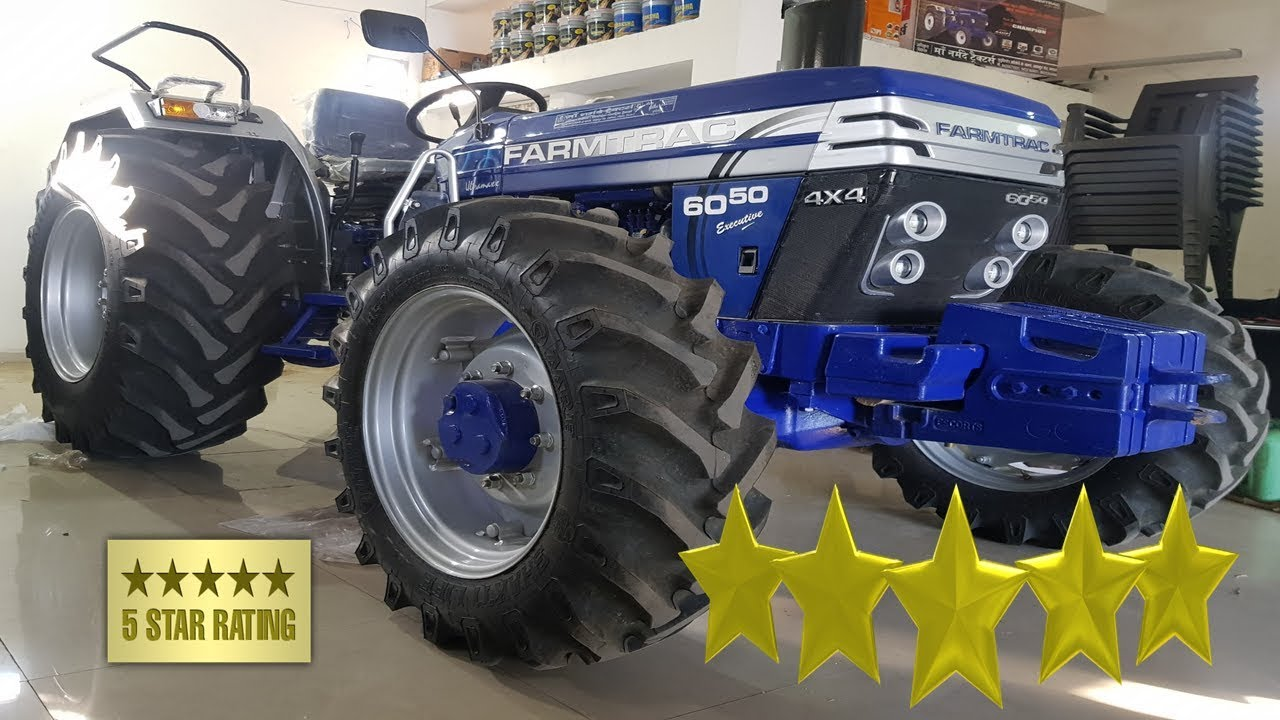 Farmtrack 6050 Real Life Review Hindi    Price + Details + Features +  Specification   