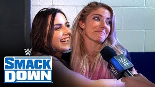 Alexa Bliss & Nikki Cross in great spirits backstage: SmackDown Exclusive, Dec. 6, 2019
