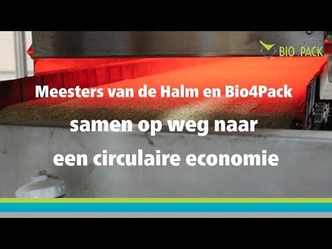 Meesters van de Halm en Bio4Pack op weg naar een circulaire economie.