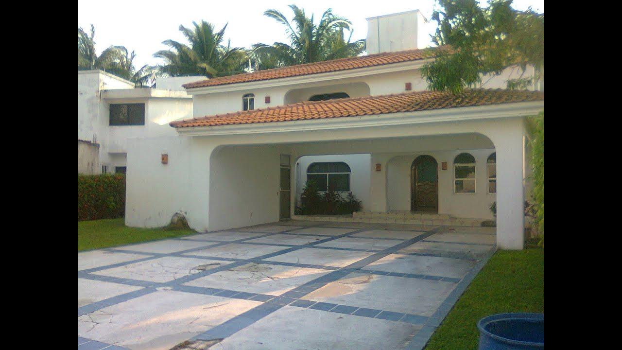 Casa de playa en renta club santiago manzanillo colima for Casas en renta en manzanillo