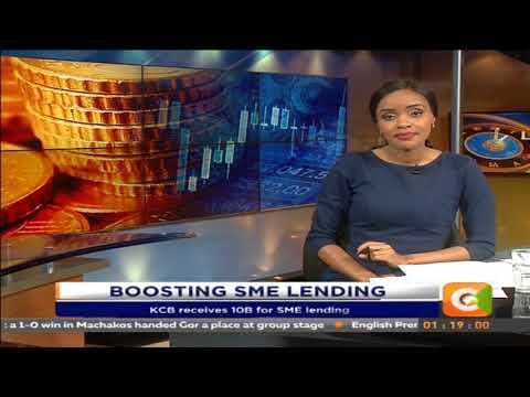 KCB receives 10B for SME lending