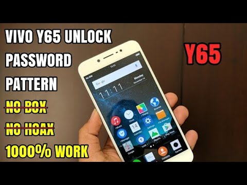 Vivo Y65 Unlock Forgot Password Pattern, Lupa Pola Keamanan | Can't Wipe All Data Factory Reset