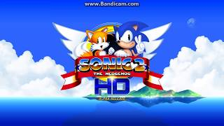 Sonic The Hedgehog 2 HD (fan games) - Emerauld hill Zone act 1 & 2