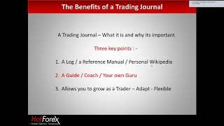 Why You Need a Forex Trading Journal | 15 November 2017