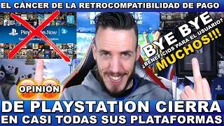 ¡¡¡WOOW SONY CIERRA PLAYSTATION NOW EN CASI TODAS SUS PLATAFORMAS!!! Hardmurdog - Opinión - Español