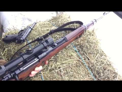Снайперский карабин Маузер 98 К СС