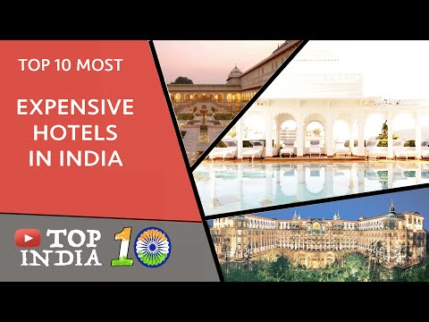 Top 10 Most Expensive Hotels In India || Top10INDIA
