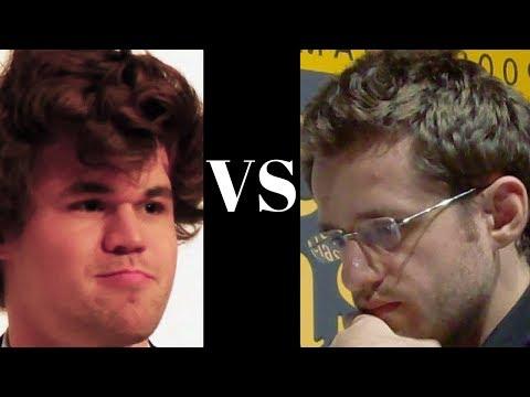 Mega Chess Titans Clash : Magnus Carlsen vs Levon Aronian : Sinquefield Cup (2017) : Spanish Game:
