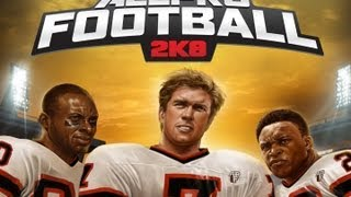 CGRundertow ALL-PRO FOOTBALL 2K8 for PlayStation 3 Video Game Review